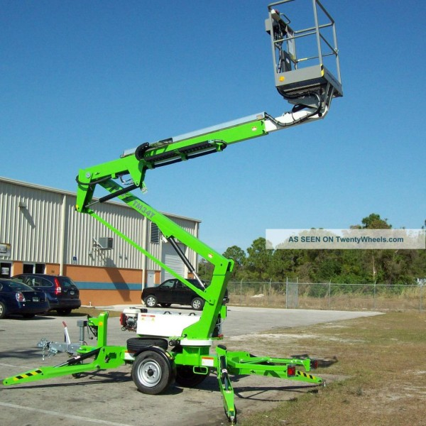 Tow Behind Aerial Bucket Lift Rental Near Nisswa Breezy Point Crosslake Pine River And Brainerd