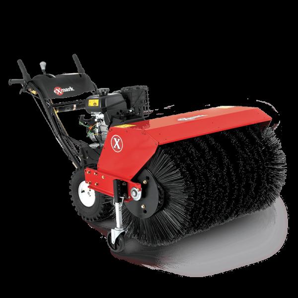 Rotary Broom Sweeper : Exmark quot rotary broom aaa equipment center