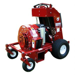 Brown Stand-on Blower for Rent