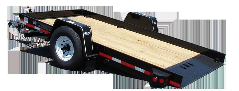 Rent Tilt Bed Utility Trailer 68 X 12 Aaa Equipment