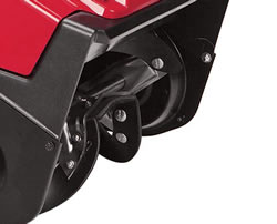 Easier snow removal with auger-assist drive