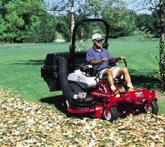 Zero Turn Riding Lawn Mower With Bagger Rental Near